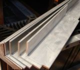 El final del molino sacó la barra de ángulo de aluminio