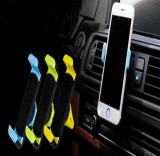 Diseño de la manera sostenedor plástico universal del teléfono del coche del montaje del coche de la salida de aire de 360 grados