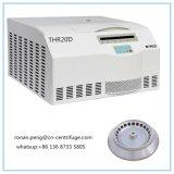 Table basse et haute vitesse centrifugeuse réfrigérée universel avec Max Volume 4*600ml