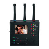 Monitor-Bildschirmanzeige entdecken mehrfacher drahtloser Kameraobjektiv-Sucher-Kamera-Scanner-Bildabtaster-Bild-Bildschirmanzeige-drahtloser Objektiv-Hunter-Antioffenes