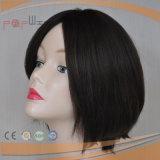 De synthetische Gemengde Pruik van het Menselijke Haar (pPG-l-01791)