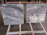 Волна серый полированной плитки&слоев REST&кухонном столе мрамора
