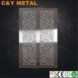 Visualizzazione decorativa del campione del portello dell'elevatore dell'acciaio inossidabile 304