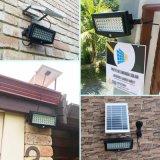 El jardín solar inferior de MOQ enciende la lámpara ligera de la seguridad del acero inoxidable PIR de la pared