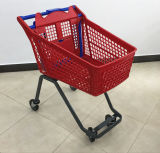El lujo 120L, carro de compras del supermercado 200L/carretilla plásticos con el asiento del bebé