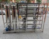 macchina deionizzata a due fasi di Purificatin dell'acqua di osmosi d'inversione dell'acqua 500lph per emodialisi