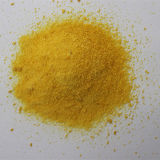 Het gele Stevige Chloride van het Poly-aluminium van het Poeder (PAC)