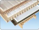 Ligne en plastique extrudeuse jumelle conique d'extrusion de profil de pipe de PVC de vis