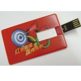 DIY 창조적인 USB 2.0 저속한 신용 카드 16GB 32GB USB 섬광 드라이브 펜 드라이브 4GB 8GB 인쇄 Photo or Custom Company 로고