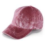 Varia gorra de béisbol del invierno del nuevo del color terciopelo del espacio en blanco