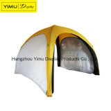Tente gonflable de dôme d'événement extérieur annonçant la tente gonflable