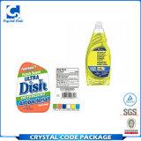 Meilleur prix personnalisés du liquide vaisselle étiquettes autocollants