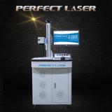 machine d'inscription de laser de fibre de plaques en acier de 20W 30W 50W