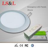 LED de emergência do sistema de luz do painel quadrado impermeável com TUV