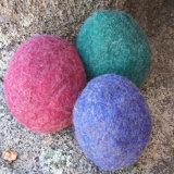 Bille de dessiccateur de feutre de laines de 100%/bille dessiccateur de blanchisserie pour la machine à laver