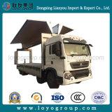 Sinotruk HOWO T5g 8X4 Wing Van Truck