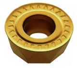 Piezas insertas indexables que dan vuelta a las piezas insertas que muelen la capa de la capa PVD del CVD de las piezas insertas para las herramientas de corte