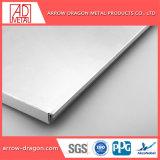 Montagem fácil leve alumínio alveolado painéis para parede Cortina