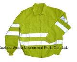 Uja003polyester 옥스포드 PVC/PU Non-Breathable/PU Breathable 외투 사려깊은 피복 Parka 비옷 Worksuit 재킷