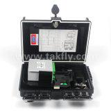 Montage mural 24 ports à fibre optique avec coffret de distribution de PLC Cassette doubleur de gamme