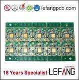 Placa PCB de controle industrial com acabamento da superfície de ouro de imersão