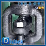 Válvula de puerta de cuña de Didtek API6d Wcb con neumático