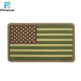 Аксессуары для одежды Pinstar резиновые моральный дух Америки флаг ПВХ патч