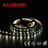 Indicatore luminoso di striscia bianco impermeabile di RGB +Pure LED