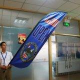 L'alta qualità progetta la bandiera per il cliente della bandierina di spiaggia delle bandierine della piuma