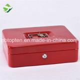 Casella portatile dei contanti della serratura di tasto del metallo della maniglia con il cassetto della moneta