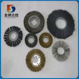 Balais de polissage industriels de roue de fil d'acier de rouleau
