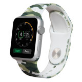 O OEM 38mm 42mm faixa de relógio de silicone de liberação rápida do tirante de substituição para Apple