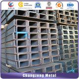 Formati standard della Manica dell'acciaio U C di A36/Ss400/Q235/JIS (CZ-C126)