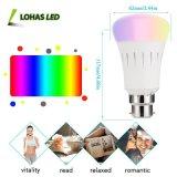 Intelligent RGBW 9W A60 B22 WiFi hogar inteligente trabajo de la luz de lámpara LED con la Tuya APP/Amazon Alexa/Google Home