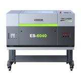 Machine de découpage de laser de prix bas pour acrylique/bois/cuir/caoutchouc Es-6040