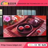 Precio al por mayor P3 en el interior de la publicidad Display de LED de visión de los medios de comunicación, USD780