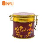 luftdichtes Zinn des Tee-100g mit Verriegelungs-Kappe für Tea Trade Company