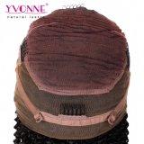 卸売の人間の毛髪のねじれた巻き毛の360のレースの前部かつら