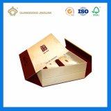 ボール紙の磁石の閉鎖が付いているペーパー包装のギフト用の箱を見るポッドサービス贅沢