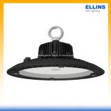 Alta luz impermeable 150lm/W de la bahía del UFO LED con la iluminación industrial