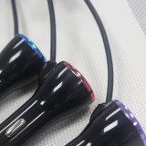 5V3.4A двойной автомобильного зарядного устройства USB с 2 м кабель от воздействий молнии