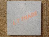 Белый ряд цвета, малые каменные зерна, плитка пола Terrazzo Двойн-Слоев