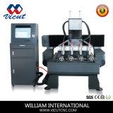3D à haute vitesse 4 axes CNC Router Machine Machine de gravure