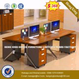 큰 크기 나무로 되는 사무용 가구 컴퓨터 테이블 사무실 워크 스테이션 (HX-8N1110)