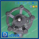 Didtekの信頼できる製造者のフランジの手動ボルトで固定された帽子のゲート弁