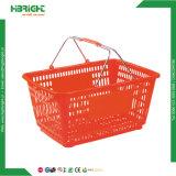 Cestino di plastica del supermercato del cestino di acquisto