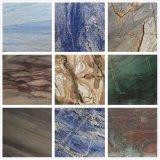 Роскошные каменные/Quartzite Azul Macaubas/Azul Bahia/Fusion/Sodalite синий/Amazon зеленый и белый/синий Macaubas рома/Патагонии полированным слоев REST