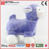 OEM 제조 견면 벨벳 박제 동물 어린 양 연약한 장난감