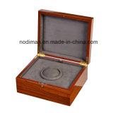 Hölzerner Uhr-Luxuxkasten, Microfiber Uhr-Kasten/verpackenkasten