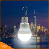 Lumière portative de tente campante d'ampoule de la lampe extérieure solaire DEL